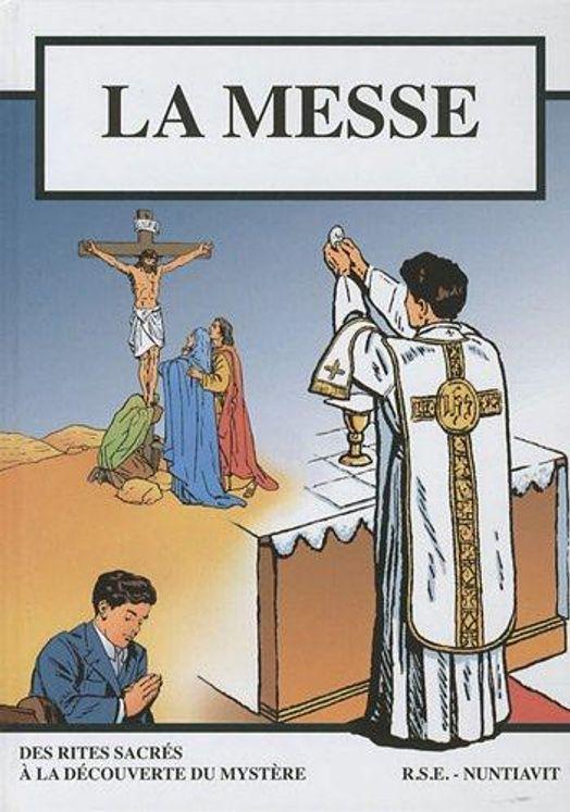 La messe - BD - Petit format 15.5*21.5