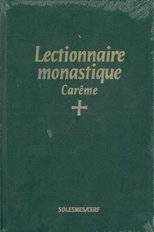 Lectionnaire monastique (latin-français) vol. 2 carême