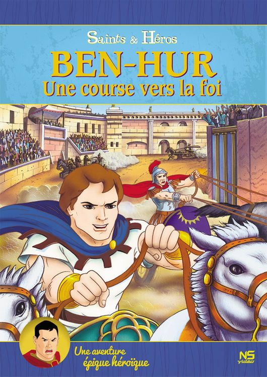Ben-Hur, une course vers la foi - DVD