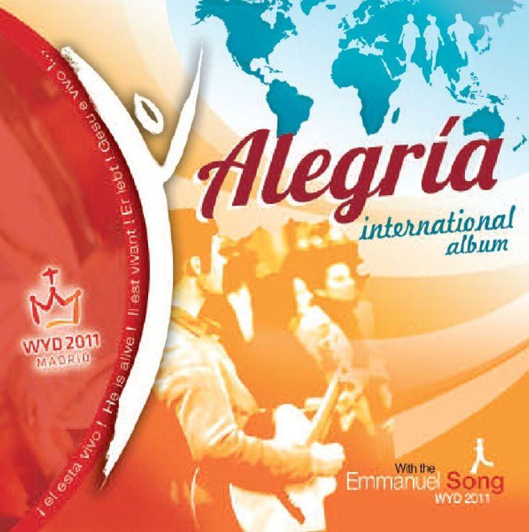 CD Alegria - JMJ Madrid 2011 - interational album