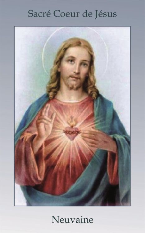 Livret de neuvaine au Sacré Coeur de Jésus