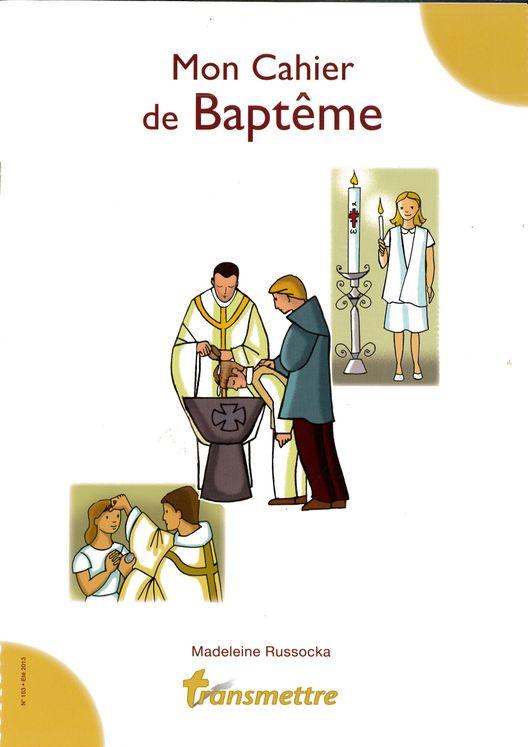 Mon Cahier de Baptême