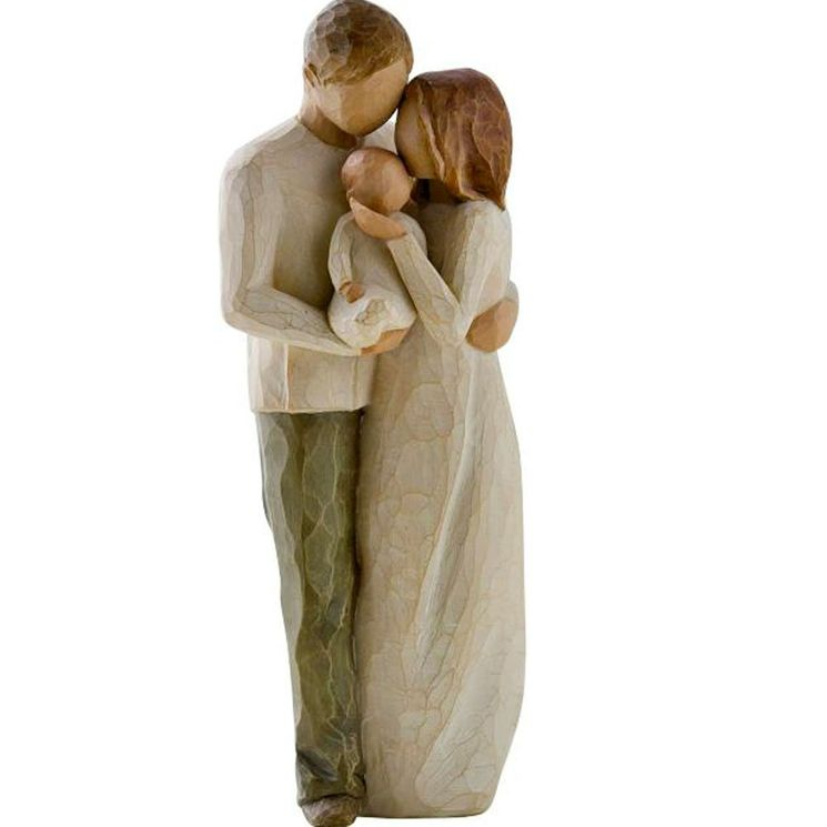 "Statuette ""Our gift"""