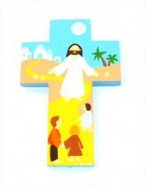 Croix Jésus soir