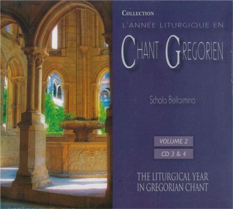 Chants Grégoriens :De la fête de la Sainte Famille au 2e dimanche de Carême. - Vol 2- 2 CD