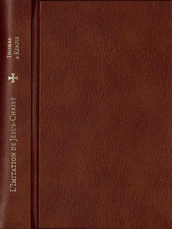 L´Imitation de Jésus-Christ   (reliure cuir)