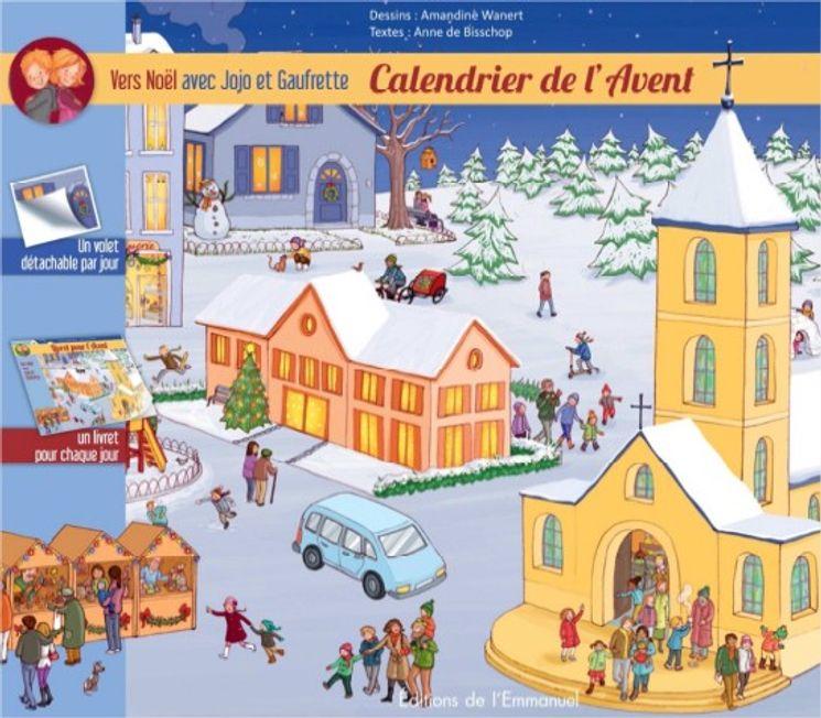 Calendrier de l´Avent - Vers Noël avec Jojo et Gaufrette
