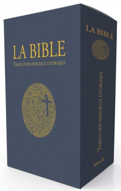 La Bible - Traduction officielle liturgique (Edition cadeau, tranche dorée)