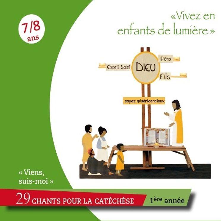 """Viens, Suis-Moi - 1ère année""""Vivez en enfants de lumière"""" - CD"""