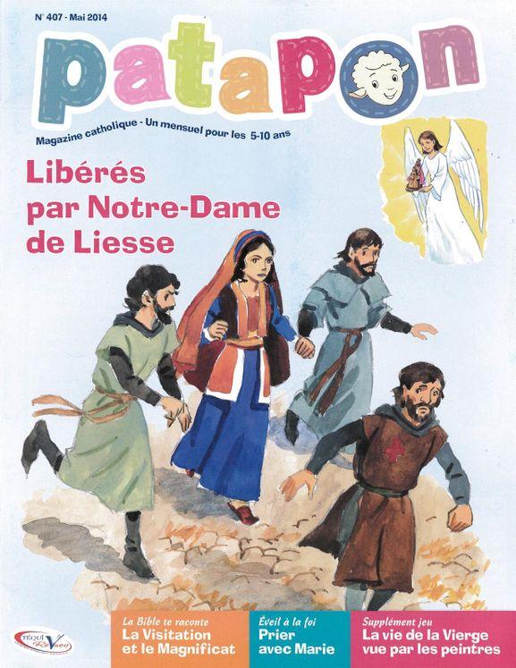 Patapon Mai 2014 N°407 - Libérés par Notre-Dame de Liesse