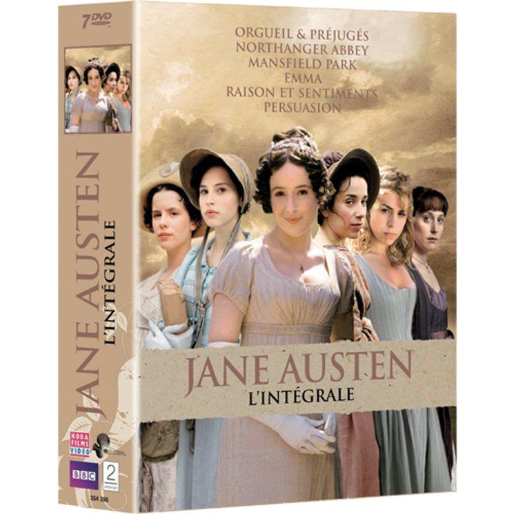 Intégrale Jane Austen - Coffret 7 DVD