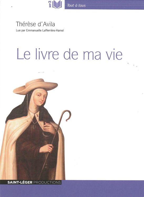 Le livre de ma vie Thèrese d´Avila - Audiolivre MP3
