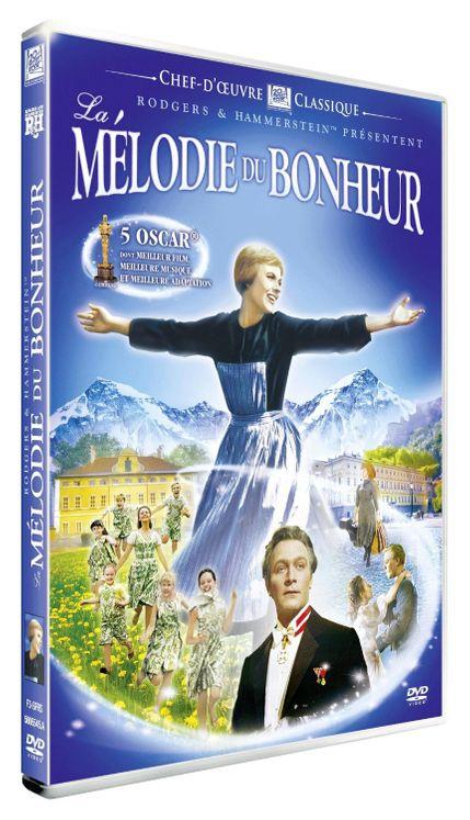 La mélodie du bonheur DVD - Version remasterisée