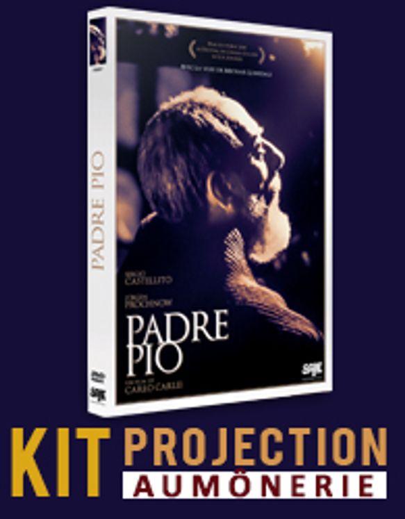 DVD Padre Pio et licence de projection grand public