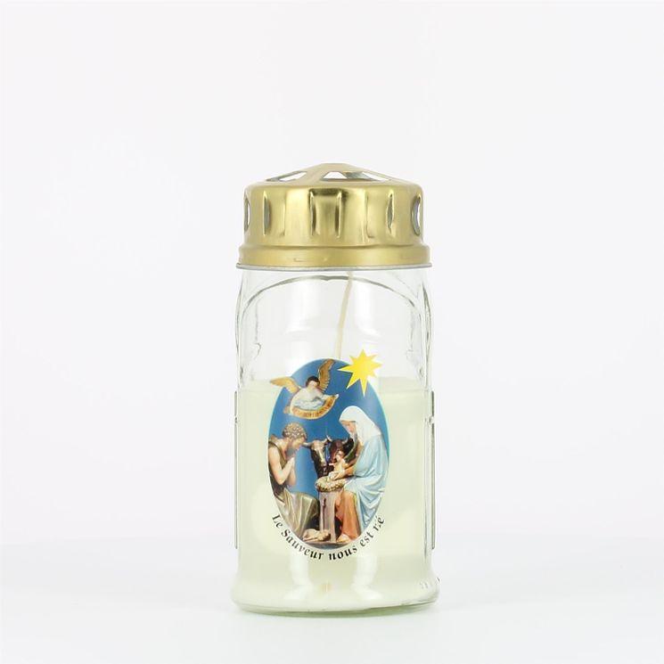 Veilleuse Extérieure Blanche Nativité