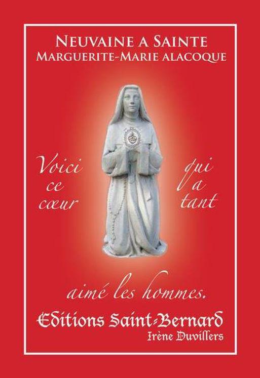 Neuvaine à Sainte Marguerite-Marie Alacoque
