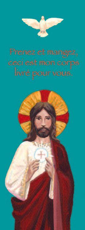 Lot de 25 - Signet Communion Jésus