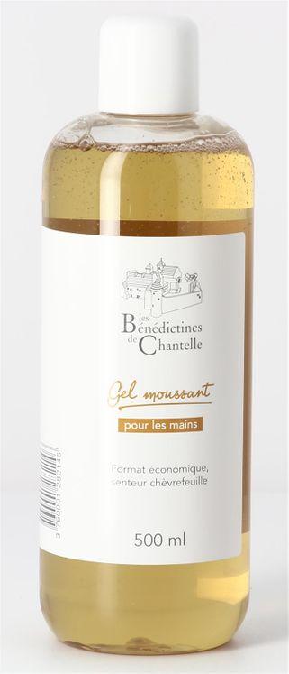 Gel Moussant senteur Chèvrefeuille - Recharge 500 ml