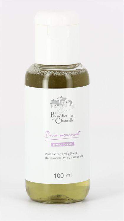 Bain Moussant aux extraits végétaux de lavande 100 ml
