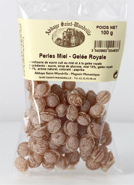 Perles miel & gelée royale, sachet de 100 g
