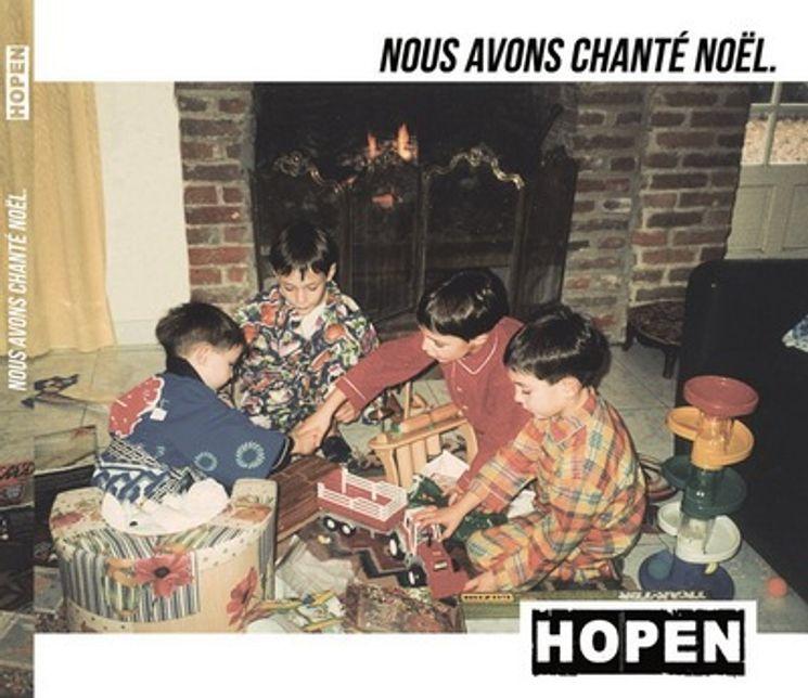 CD Hopen Nous avons chanté Noël