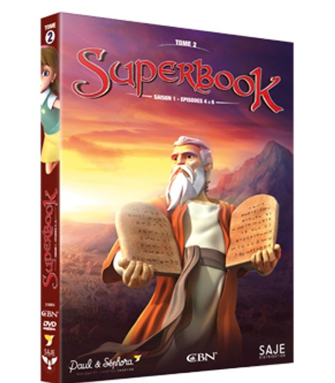 Superbook Tome 2 - Saison 1 - Episode 4 à 6 - DVD