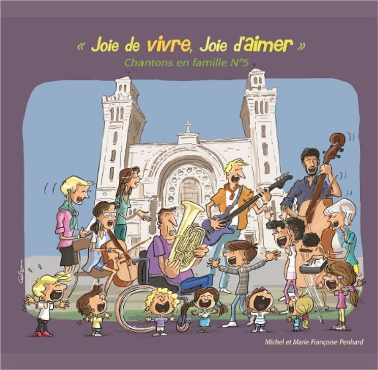 Chantons en famille ! N°5 - CD Joie de vivre, joie d´aimer