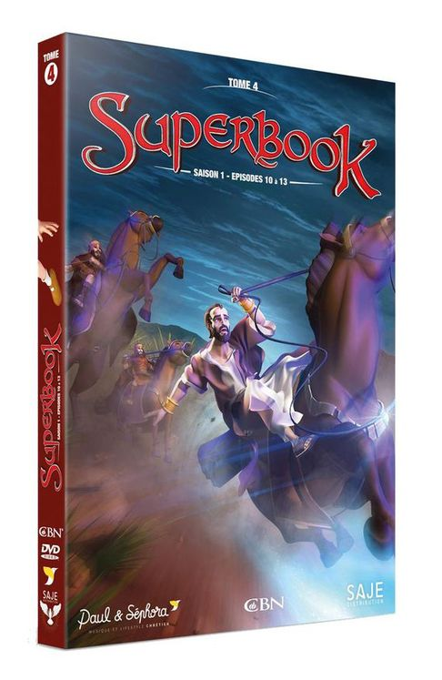 Superbook Tome 4 -  Saison 1- Episodes 10 à 13  - DVD