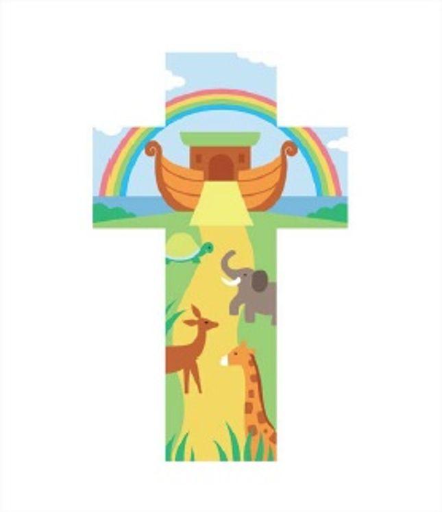Croix de l´Arche de Noé 12 cm