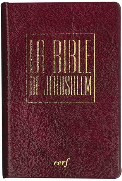 """Bible de Jérusalem """"Edition Poche"""" Etui Vinyle"""