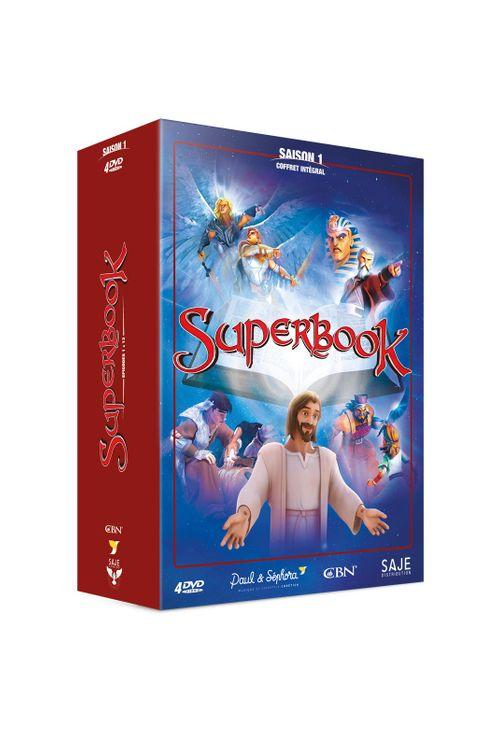 Superbook coffret intégral Saison 1 - 4 DVD