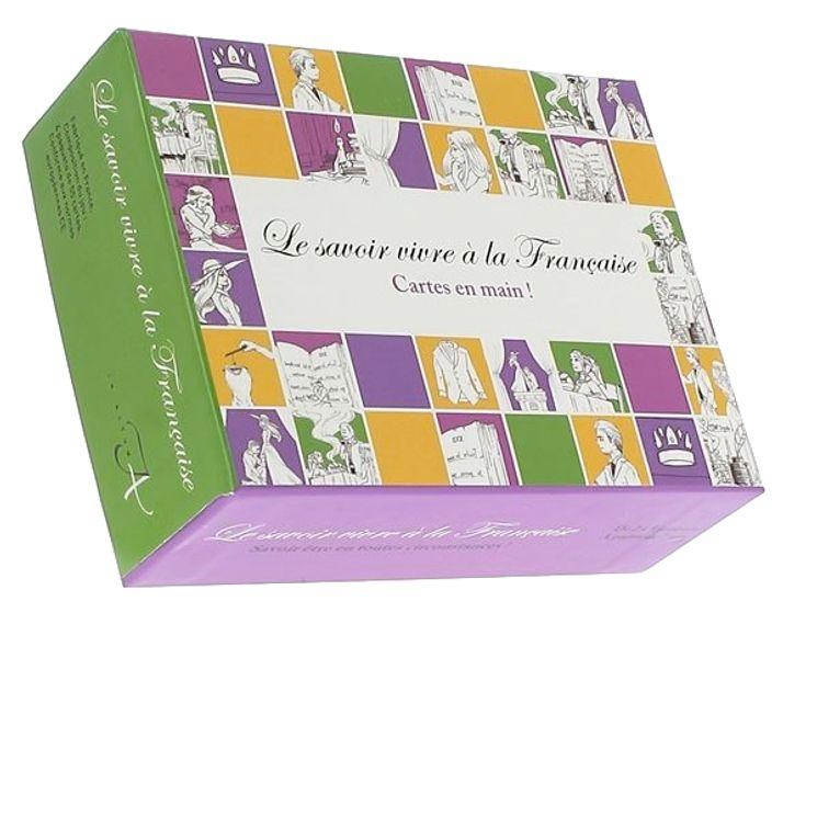 """Jeu """"Le savoir vivre à la Française"""""""