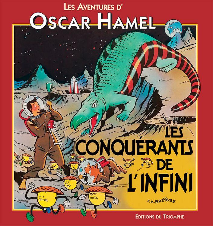 Les aventures d´Oscar Hamel - Les Conquérants de l'infini