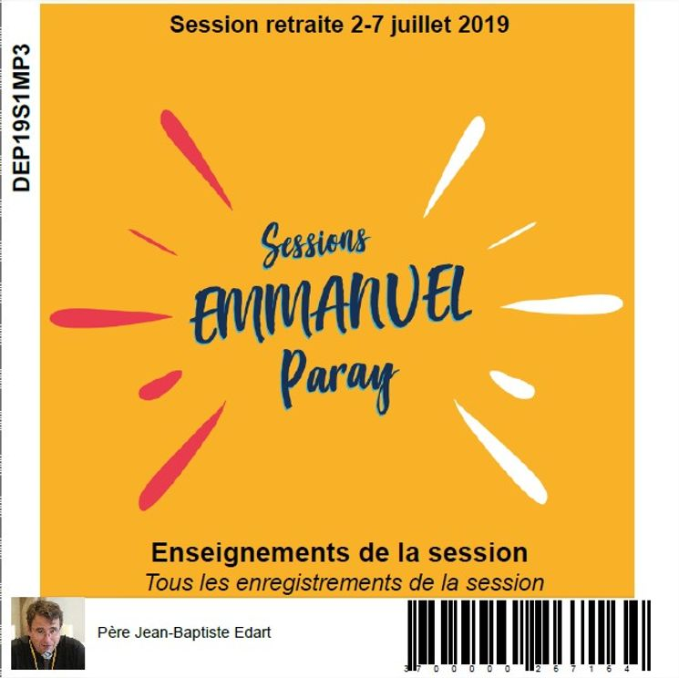 Session retraite du 2 au 7 juillet 2019, CD MP3