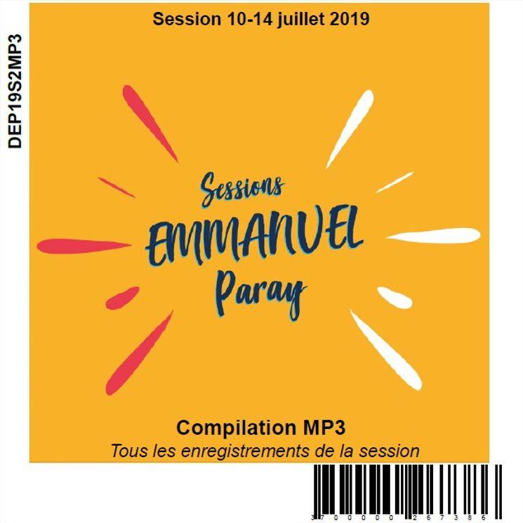 Session 10-14 juillet 2019, CD MP3
