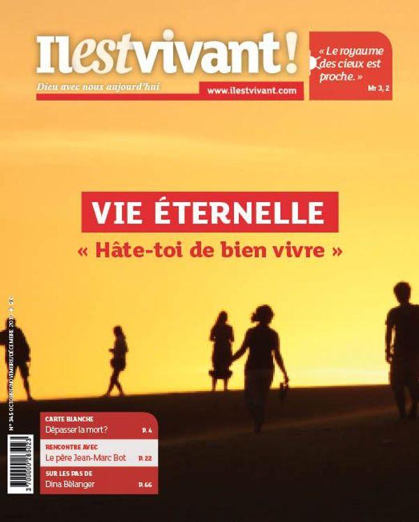 """Pack de 50 exemplaires N°345 -Vie éternelle -  """"Hâte-toi de bien vivre !"""" - Octobre - Novembre - Décembre 2019"""