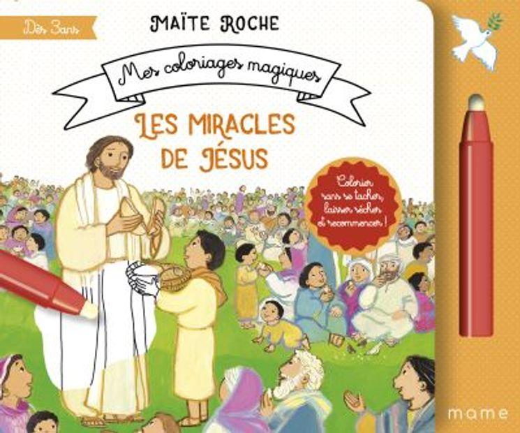 Coloriage à l´eau -  Les miracles de Jésus