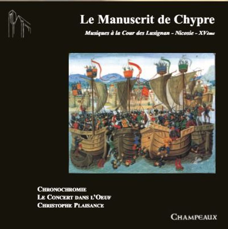 Le Manuscrit de Chypre - CD