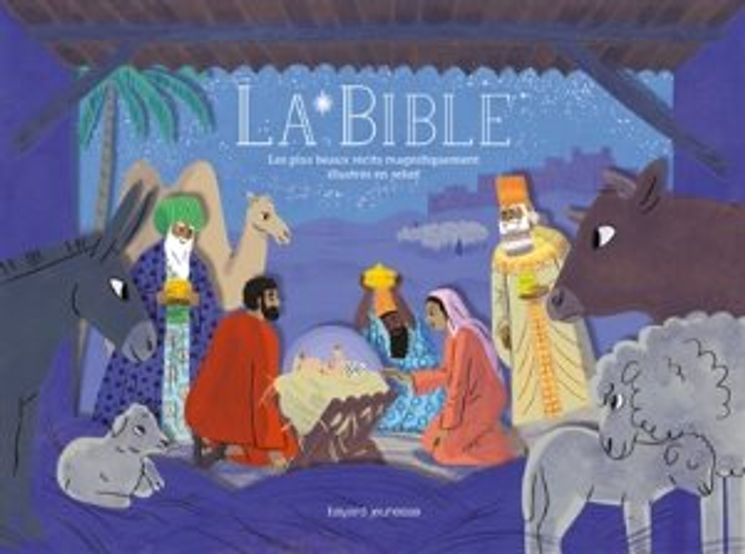 Les plus beaux récits de la Bible illustrés en relief