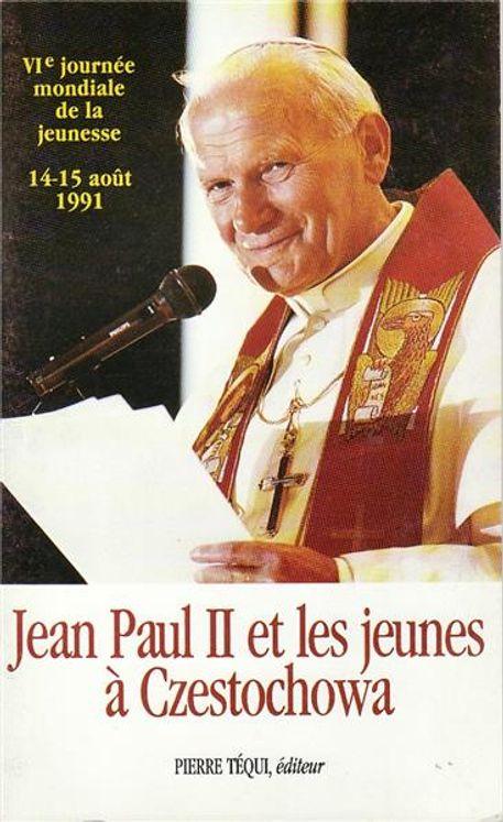 Jean-Paul II et Jeunes à Czestochowa