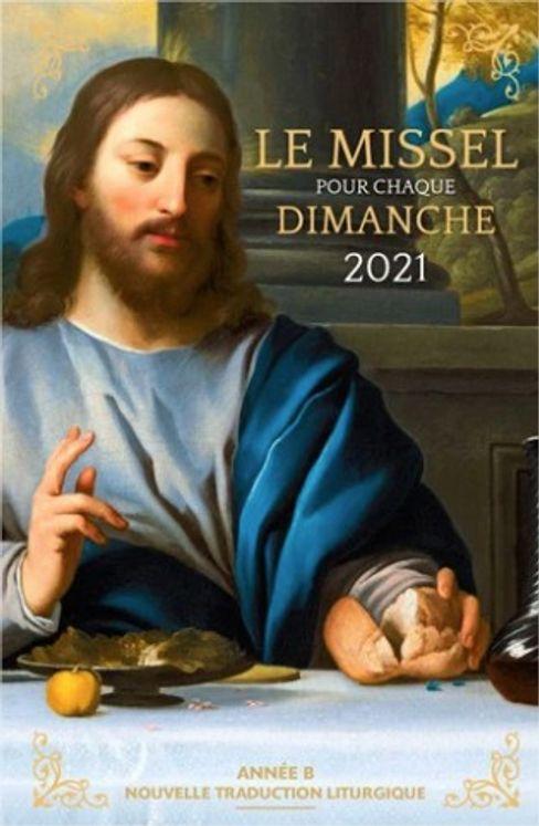 Le missel pour chaque dimanche 2021