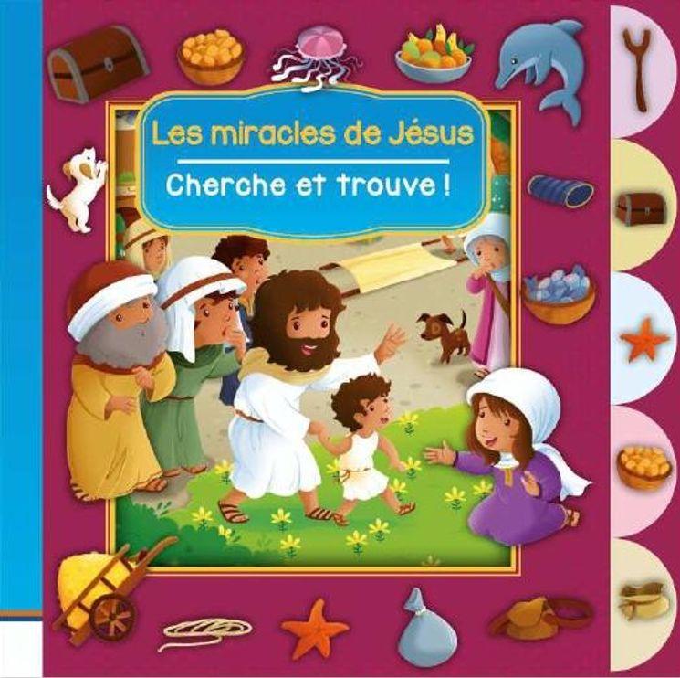 Cherche et trouve - les miracles de Jésus