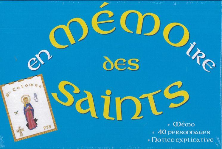 Jeu Memo En mémoire des Saints