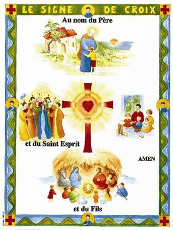 Poster - Le signe de Croix