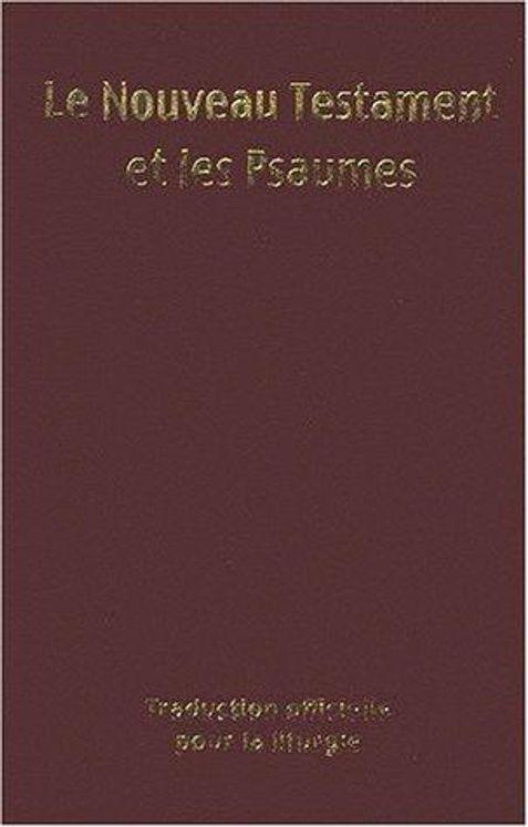 Nouveau Testament et Psaumes (format 9x14 - couverture vinyl)