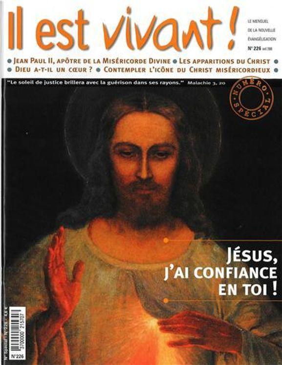 N°226  - Jésus, j´ai confiance en toi !