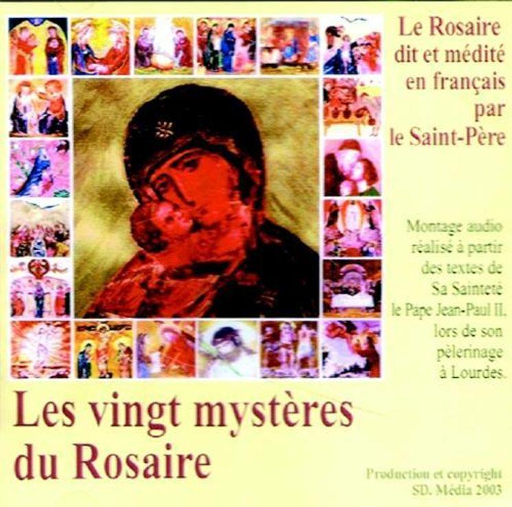 CD Les vingt mystères du Rosaire