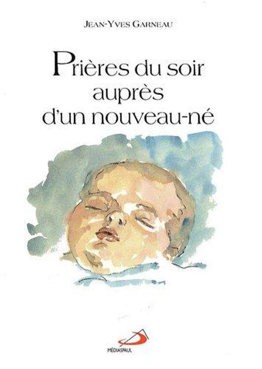 Priéres du soir auprés d'un nouveau-né